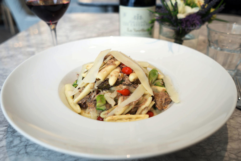 Cavatelli with Braised Lamb Shoulder. Photo: Cindy Yu