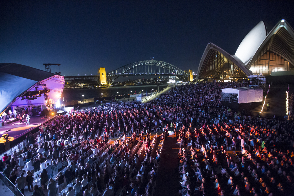 Rob Thomas at the Sydney Opera House