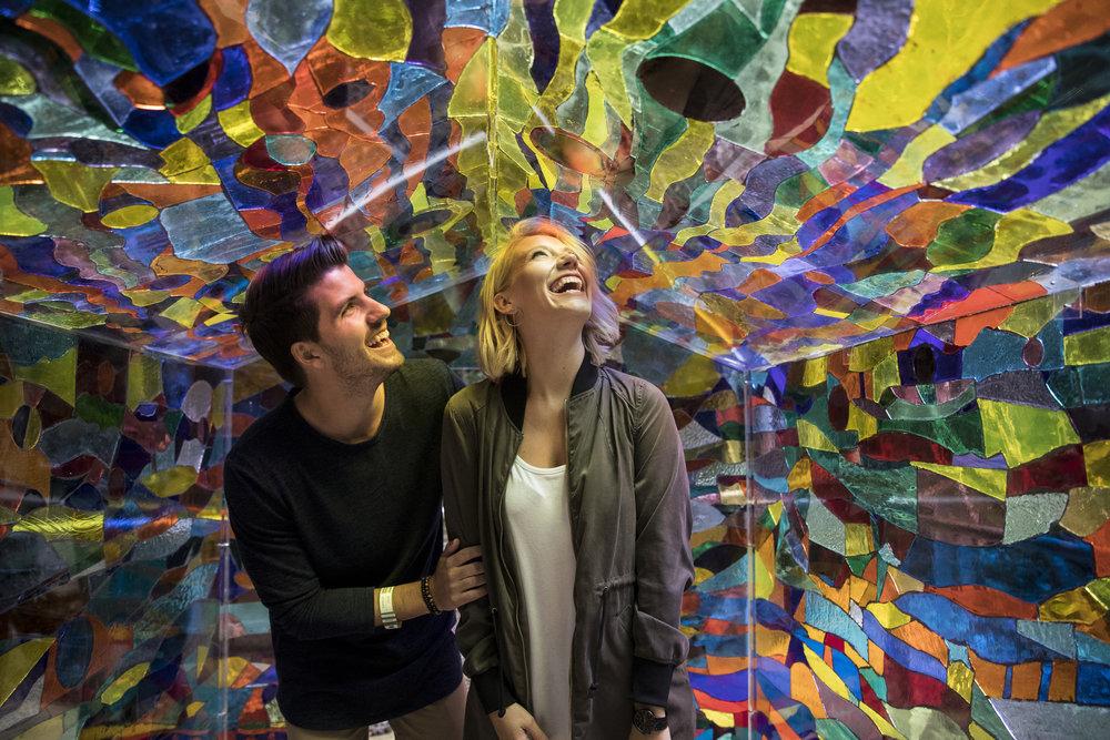Jess and Matt, Blue Mountains - Destination NSW