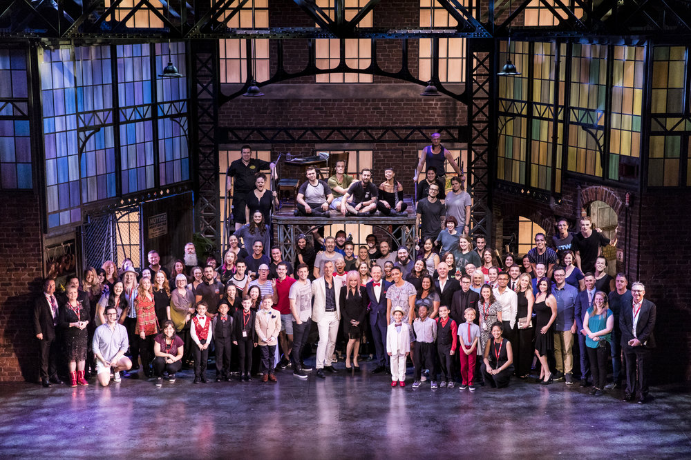 Kinky Boots Australia Team Photo