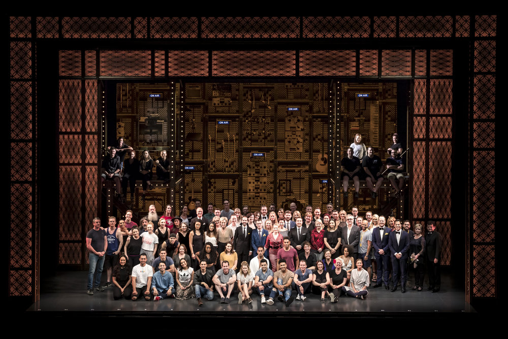 Beautiful: The Carole King Musical - Team Photo