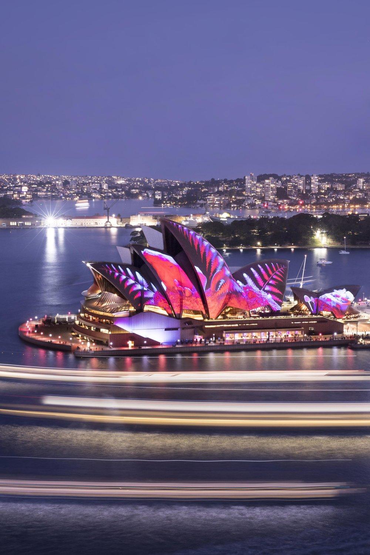Sydney Opera House for Vivid Festival