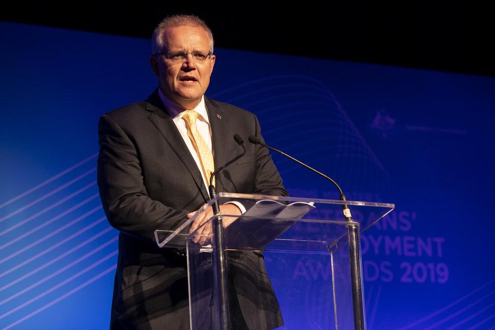 Prime Minister Scott Morrison for Department of Veterans' Affairs