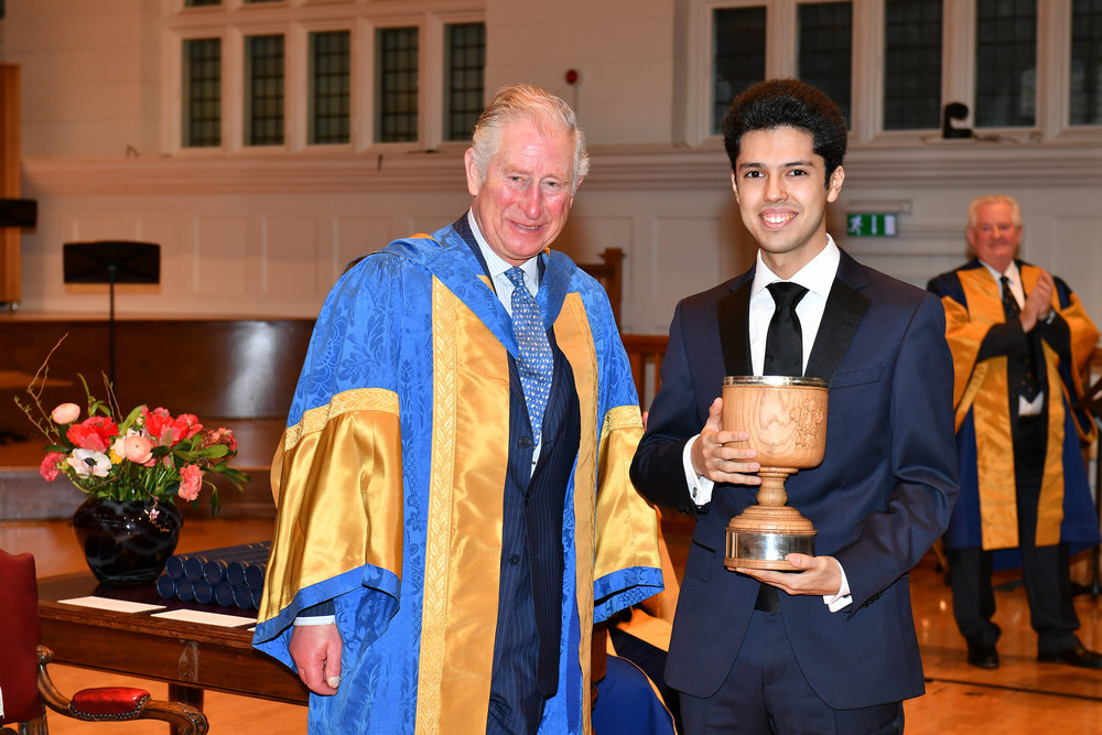 Eduardo Andrade and HRH Prince of Wales ,  Photo by Chris Christodoulou