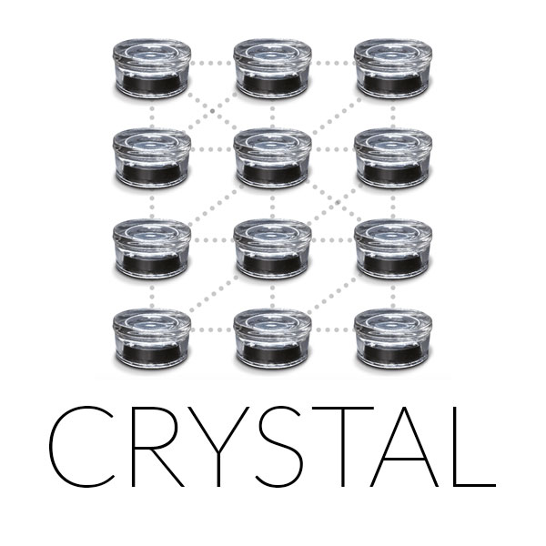 Crystal - The Crystal Exterior LED Marker offers Bluetooth connection and smartphone application to choose your own scenario and colours. The markers can be connected, forming a net-like structure.With the Connected Crystal stud, the solution optimises light scenarios, in a variety of colours or intensity.
