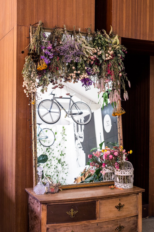 Floral Selfie Mirror