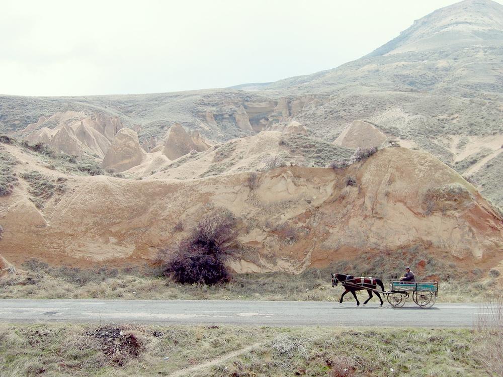 Horse & Cart - Cappadocia, Turkey