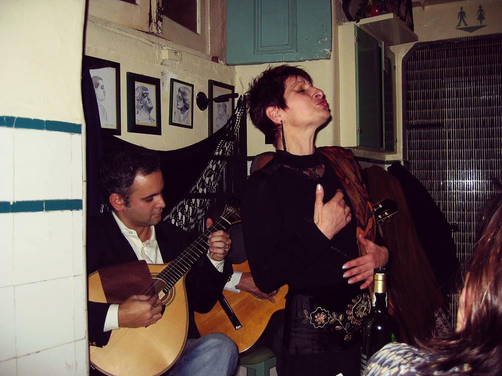 Fado Singer - Lisbon, Portugal