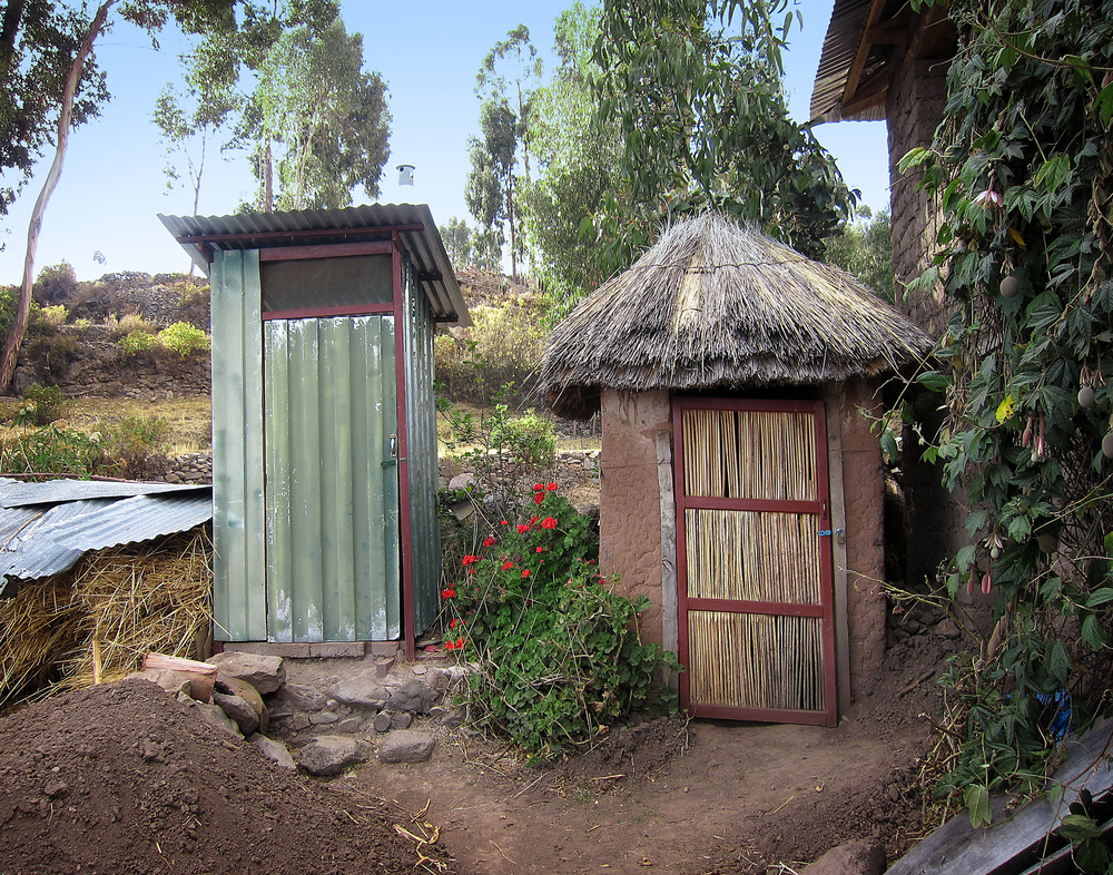 The Outhouses - Amantani, Peru