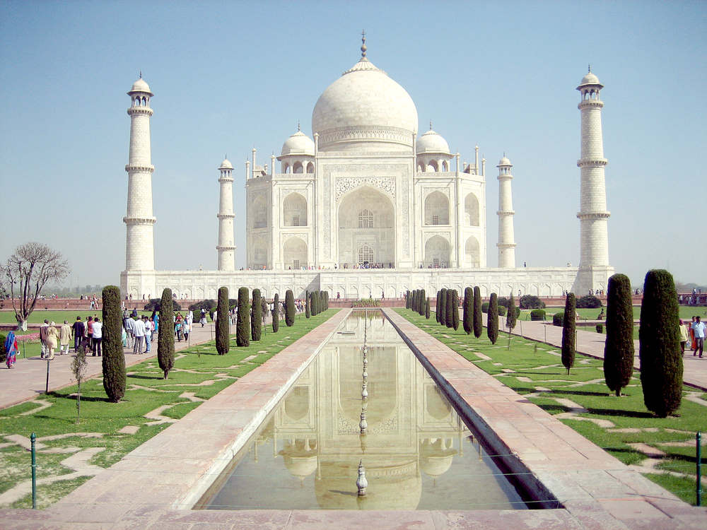 The Taj - Agra, India