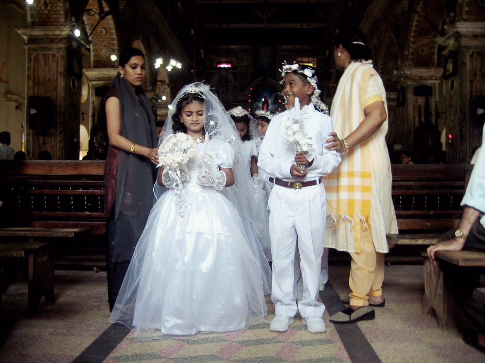 First Communion - Fort Cochin, India