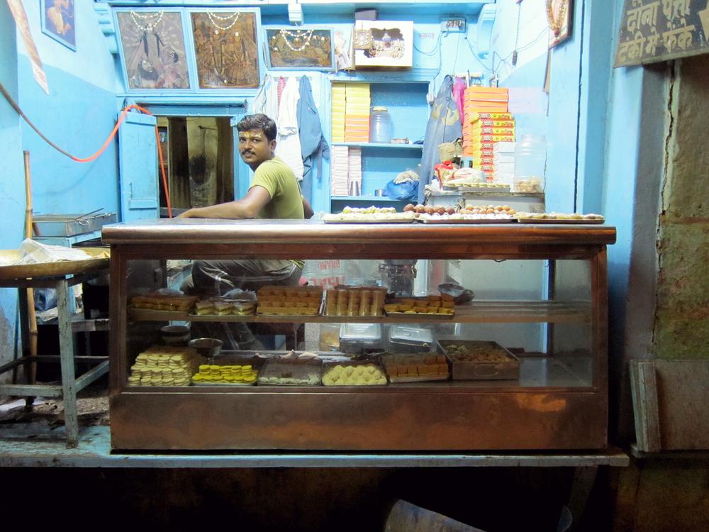 Ladoo Man - Varanasi, India