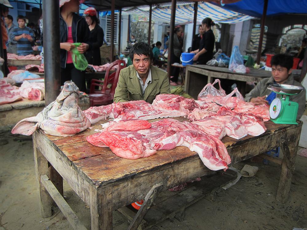 Pig Butcher - Bac Ha, Vietnam