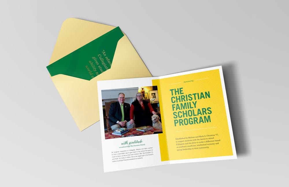 COLLEGIATE SCHOOL  design / copy