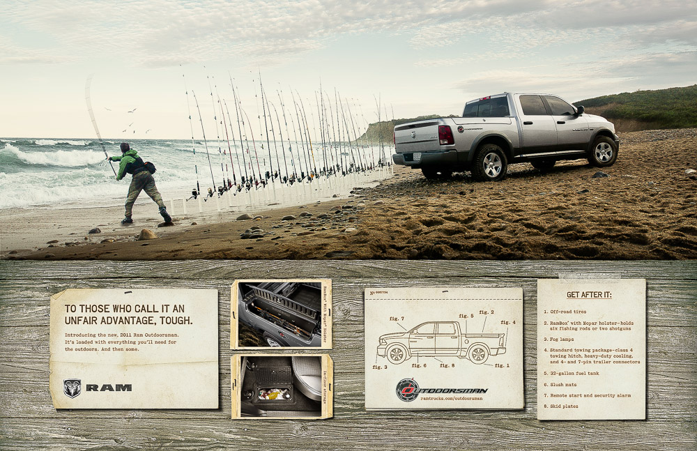 "Dodge Ram ""Outdoorsman"""
