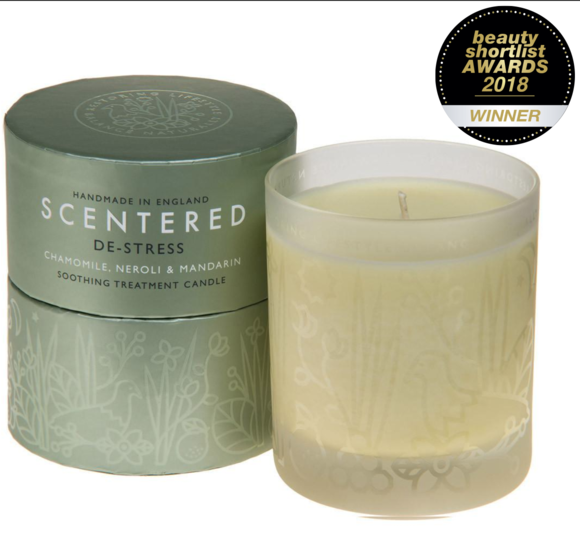 Scentered De-Stress Large Candle