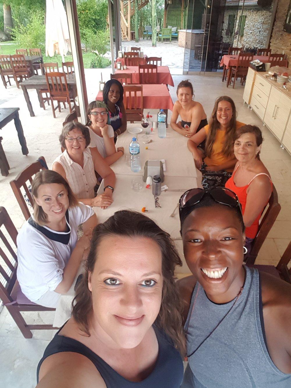 Yoga Holiday, Dalyan, Turkey 2018 with Aygul, Grenadine Lodge Manager