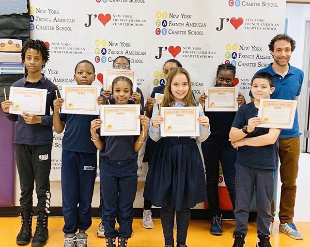 Mr. François gave out certificates for various #achievements to his 5th grade students during our monthly awards ceremony! 🎉📝📚 #teachersofinstagram #nyfacs #charterschool #harlem #education #bilingual #teachers #students #kidstagram #bestoftheday #photooftheday #awards #manhattan #instalike #instagood #followers #follow #followme