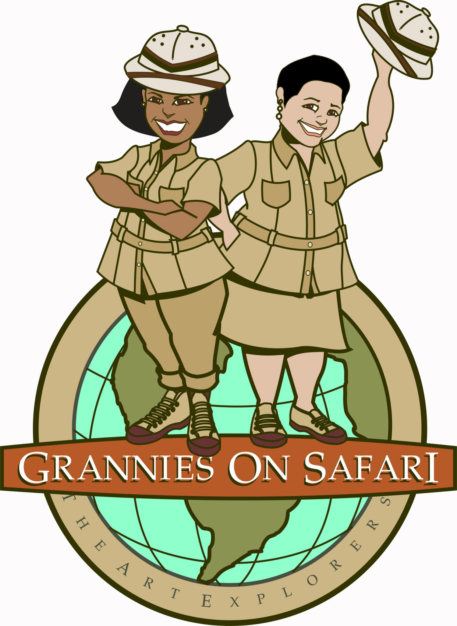 Grannies on Safari