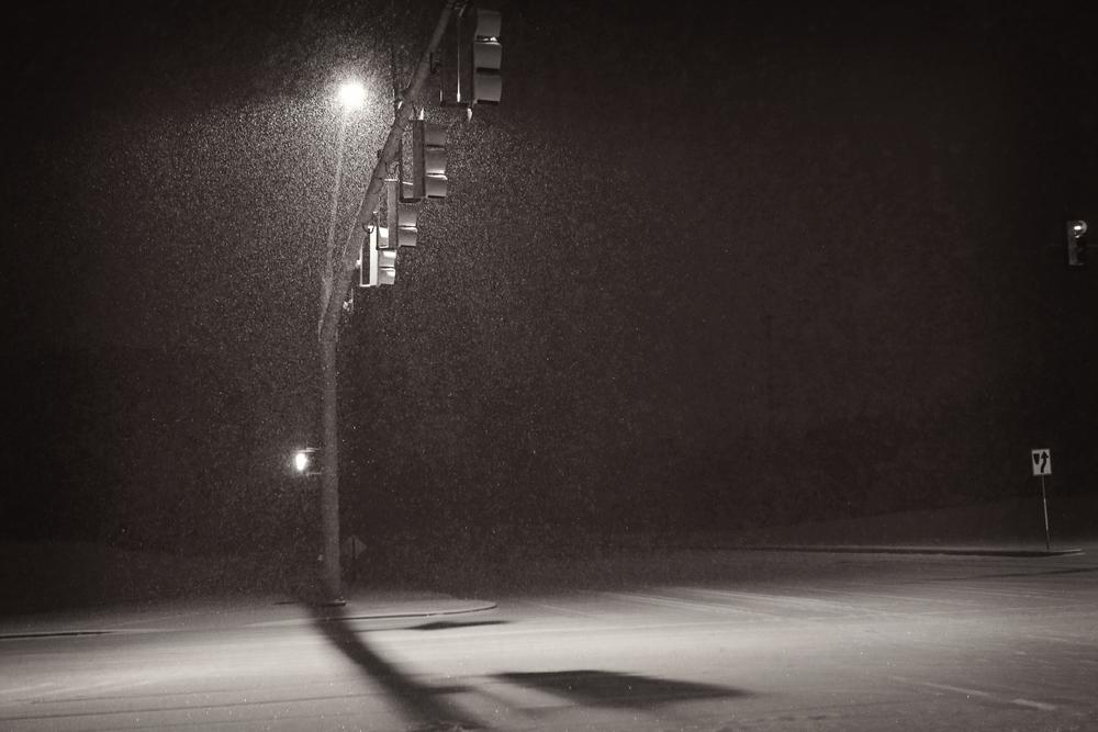 #snowfalling