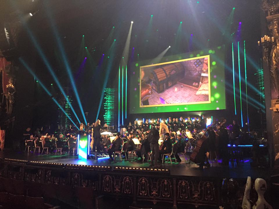 Video Games Orchestra Performing Zelda at the Venetian Theater.