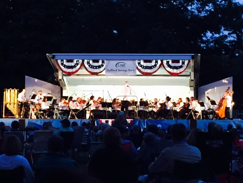 Wallingford Symphony 4th of July Pops Concert.