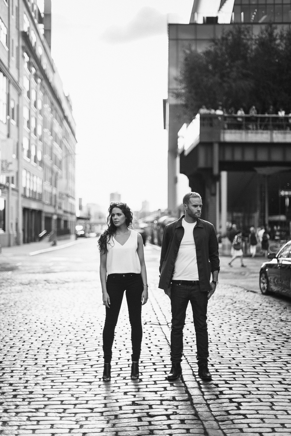 Non-cheesy Meatpacking District Engagement Photos