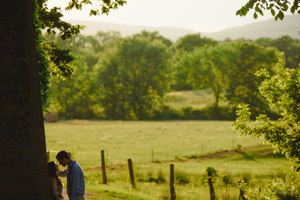 The Hudson Valley is home to many vineyards and farms and apple orchards, all lending beautiful backdrops for engagement sessions.