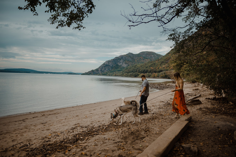 The best part about this spot is that as you come out of the woods, you hit this little beach that most people don't even know exist. It's so hidden that we had it all to ourselves.