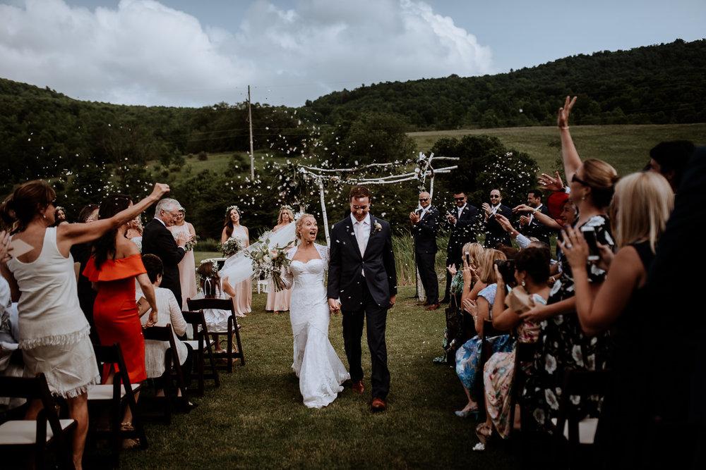Wedding at Maple Shade Farm
