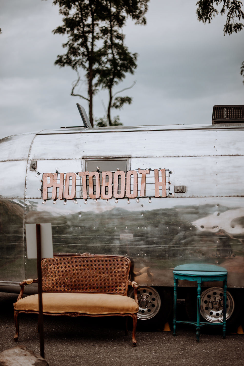 Airstream photo booth from Rose and Dale Photo Co.