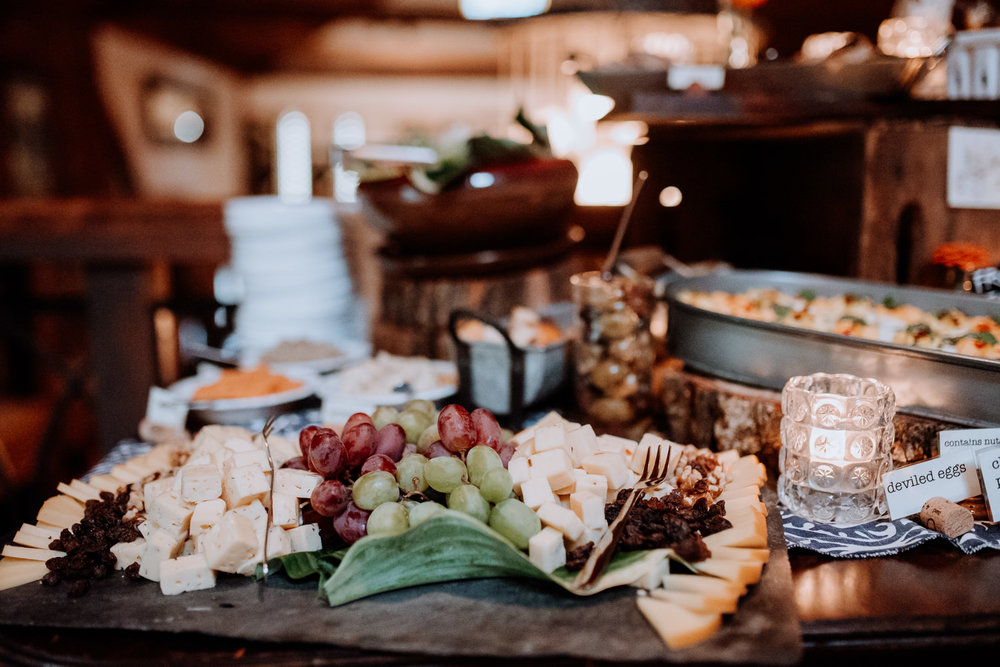 Farm to table wedding venue