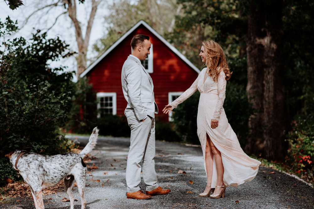 Hudson Valley Barn Wedding - Crested Hen Farms, High Falls NY