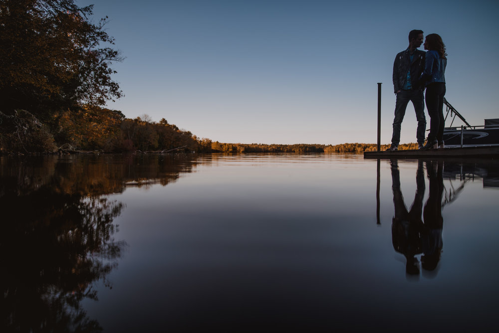 Hudson Valley Engagement Session at Bethel Woods Center for the