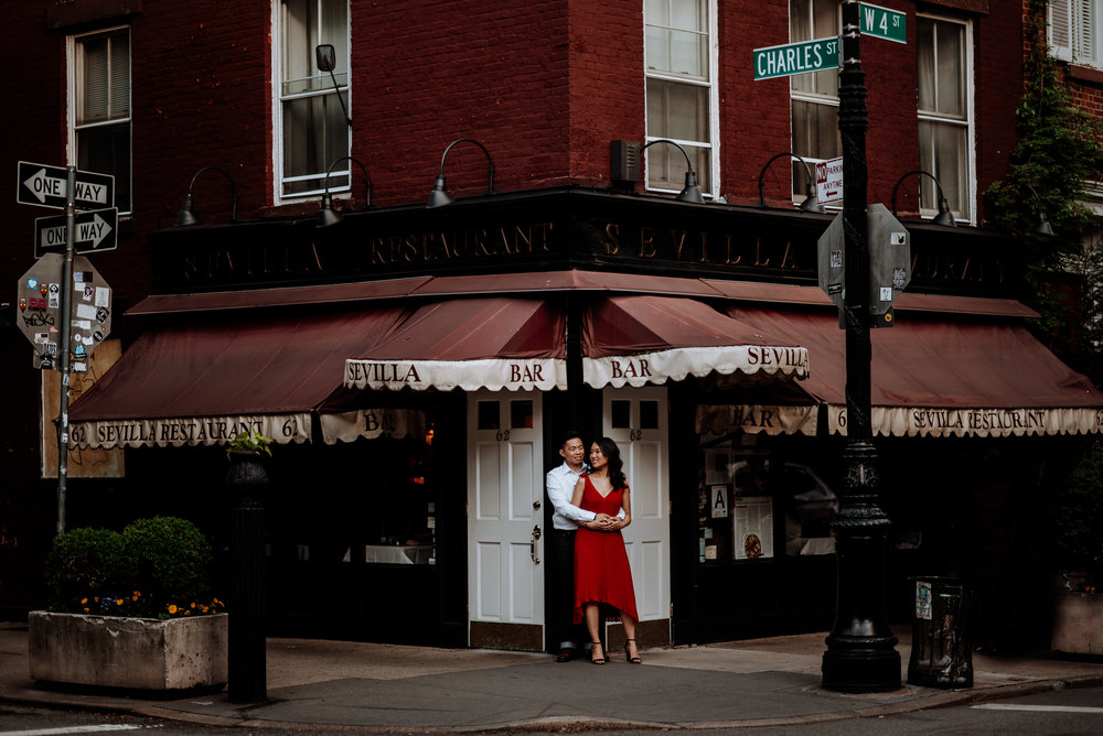Lower East Side Engagement Photos - Van Leeuwen and Park