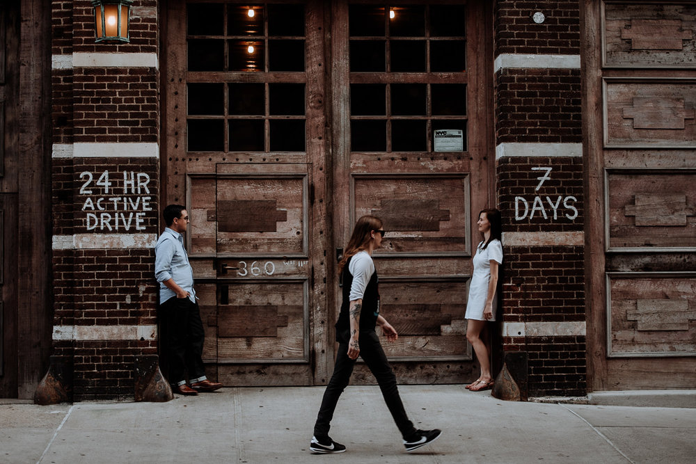 West Village Engagement Photos