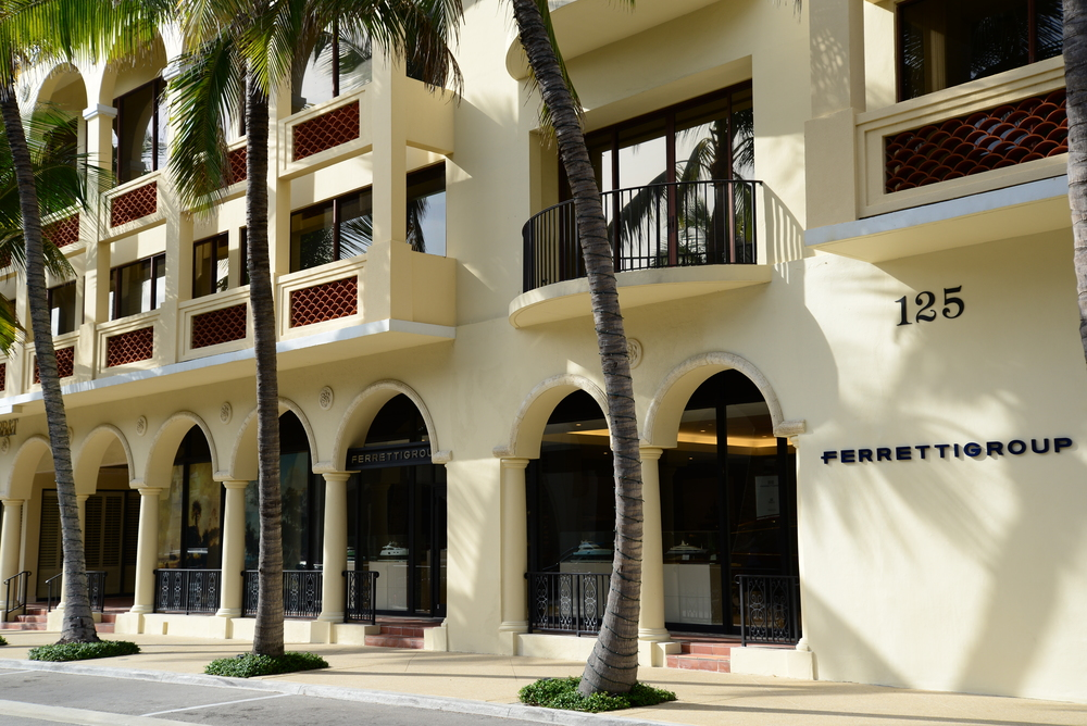 Ferretti Group, Worth Ave, Palm Beach
