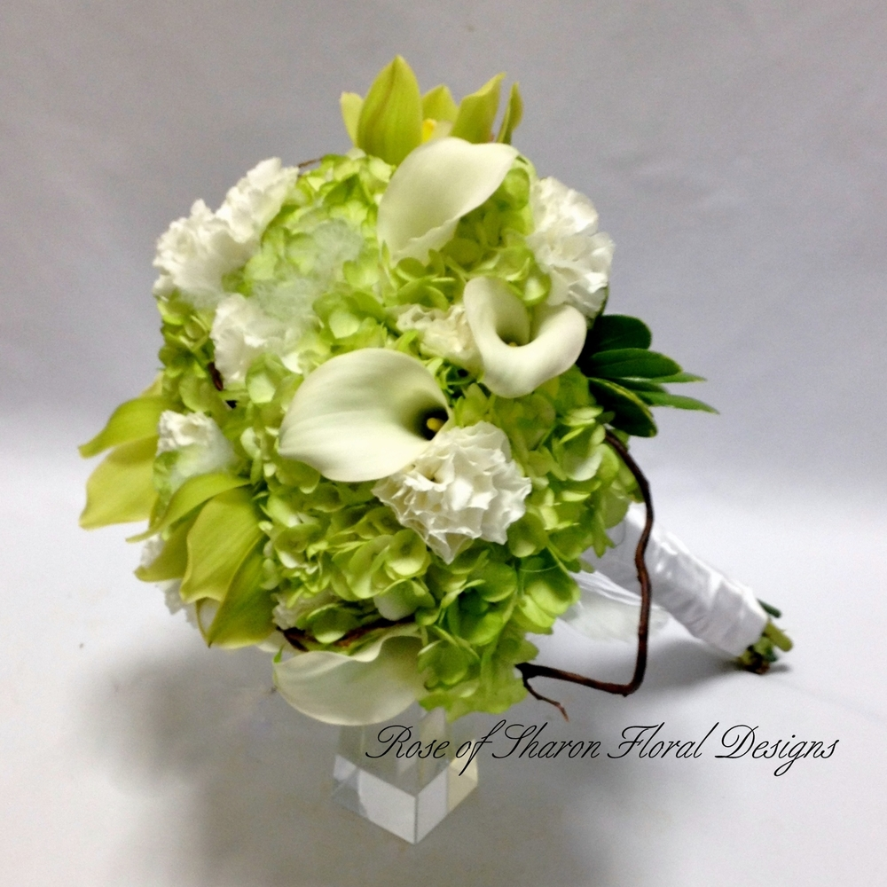 Wedding Bouquets By Color — Rose Of Sharon Floral Designs