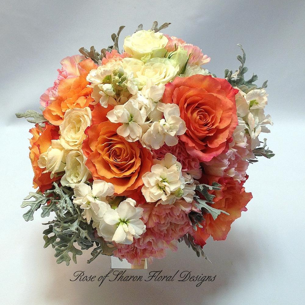 Orange Bouquets -
