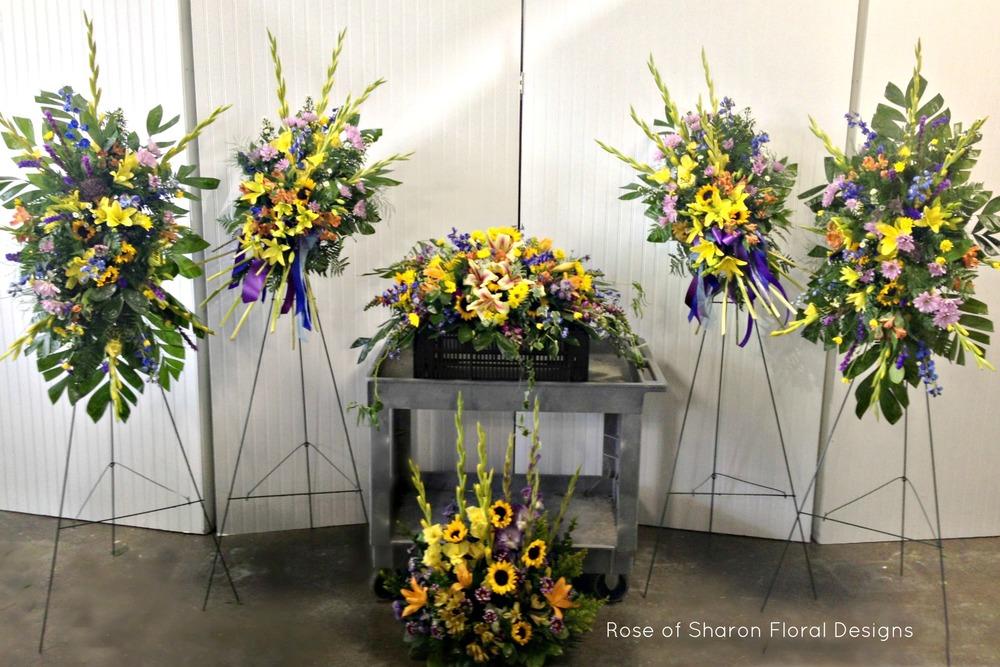 Sunflower tribute