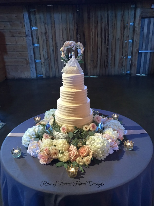 Cake Flowers — Rose Of Sharon Floral Design Studio