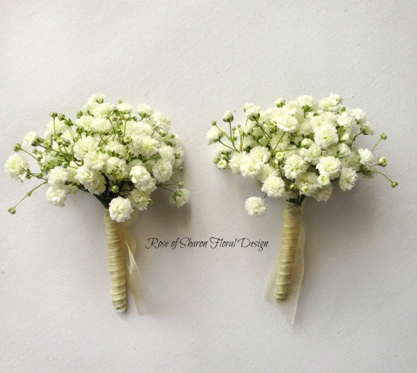 Rustic Country Boutonniere Corsage Rose Of Sharon Floral Design Studio