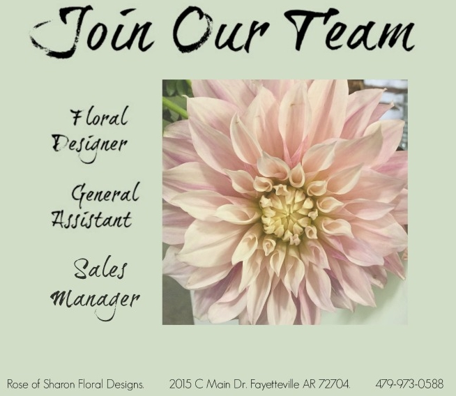 Rose of Sharon is hiring