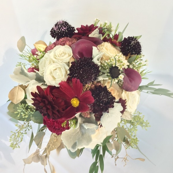 Red Bouquets -