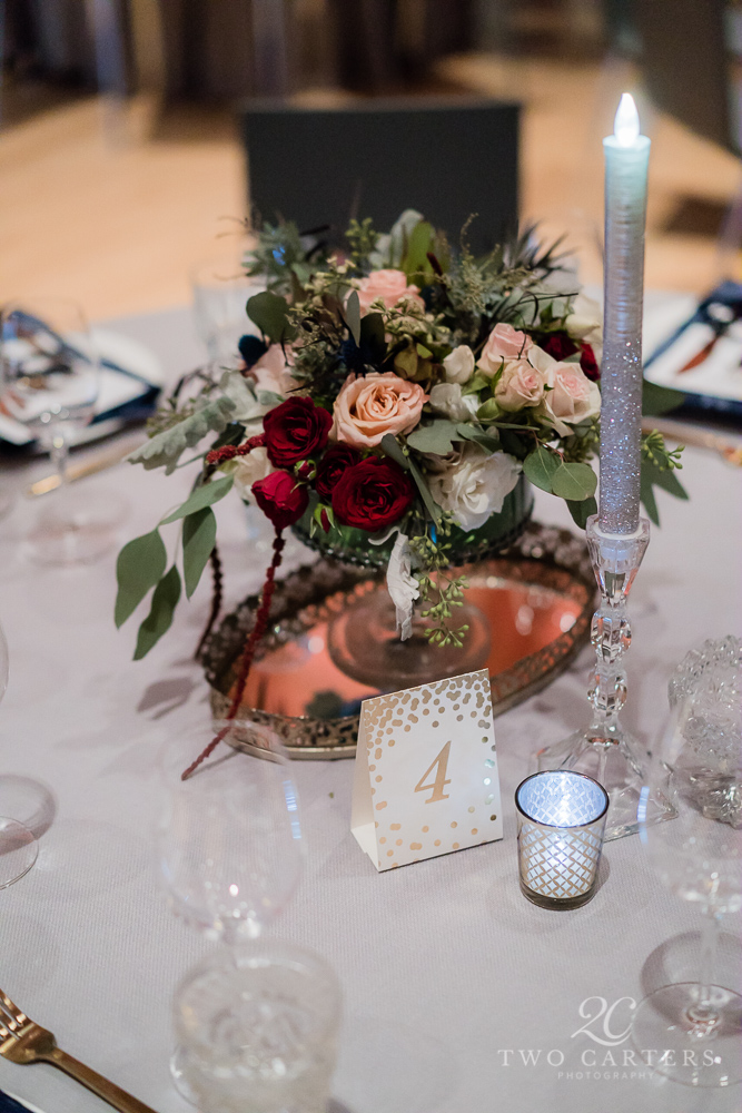 13. Two Carters Photography. Rose of Sharon Floral Designs.  Blush, Peach & Burgundy Wedding. Crystal Bridges.jpg