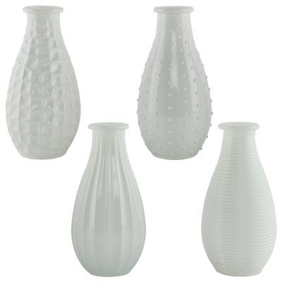 "5"" Cafe Bud Vase Collection"
