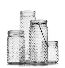 Hobnail Jar collection (with hanger)