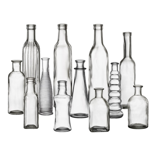 "5"" to 9"" vintage bottle collection"