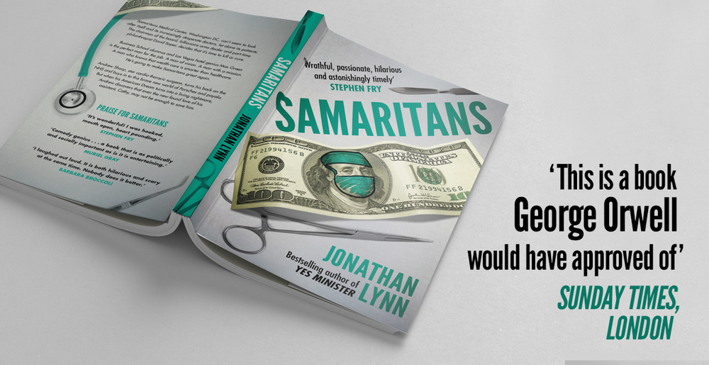 Happy to say that Sony TV has acquired the rights to my novel Samaritans, for Lynda Obst and 3Arts to produce a series. Very pleased that they all like it so much, and see the huge potential of the dark comedy inherent in US healthcare .