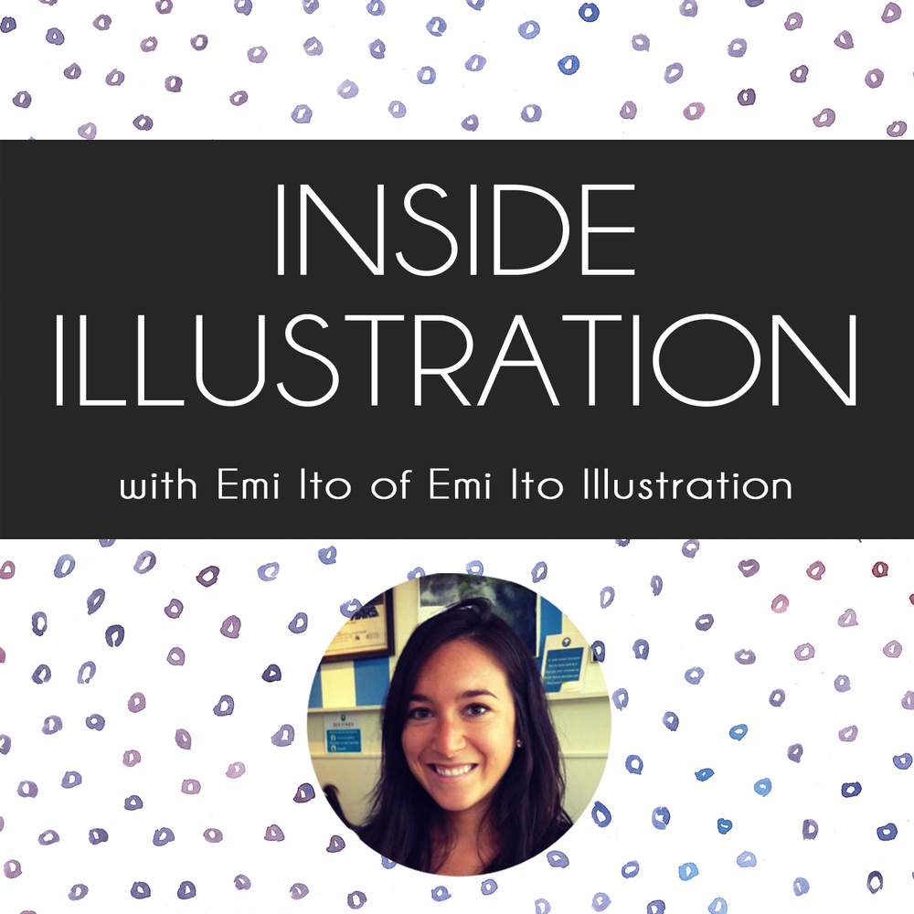 inside illustration with emi ito of emi ito illustration image